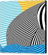 Abstract - Sailing Canvas Print