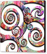 Abstract - Spirals - Wonderland Canvas Print