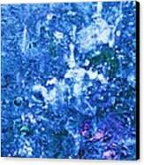 Abstract Splashing Water Canvas Print