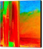 Abstract Splendor II Canvas Print by Glenna McRae