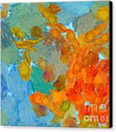 Abstract Summer #2 Canvas Print by Pixel Chimp
