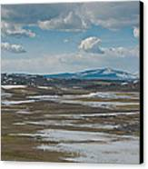 Yellowstone Landscape Canvas Print by Pro Shutterblade
