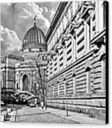 Academy Of Arts Dresden Canvas Print