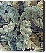Acanthus Leaf Design Canvas Print by William Morris