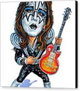 Ace Frehley Canvas Print by Art