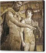 Achilles And Chiron. 45 - 79. Detail Canvas Print by Everett