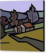 Adam's Farm Canvas Print by Kenneth North