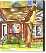 Adams Home Canvas Print by Kip DeVore