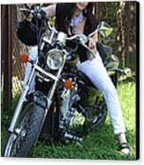 Adel Easy Rider Canvas Print