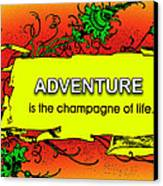 Adventure Canvas Print by Mike Flynn