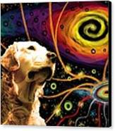 Aetherial Retriever Canvas Print