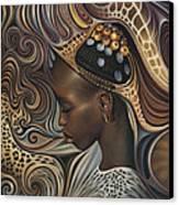 African Spirits II Canvas Print
