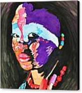 African Woman Canvas Print by Glenn Calloway