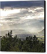 After A Pyrenean Storm Canvas Print by Michael David Murphy