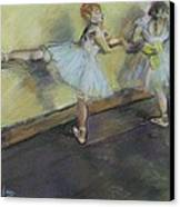 After Degas 2 Canvas Print by Dorothy Siclare