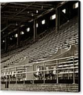 After The Game - Franklin Field Philadelphia Canvas Print by Bill Cannon