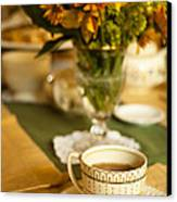 Afternoon Tea Time Canvas Print