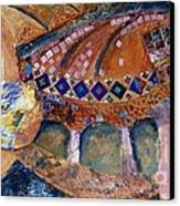 Agia Sophia Istanbul Canvas Print by Jacki Wright