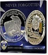 Akron Police Memorial Canvas Print