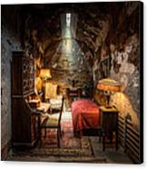 Al Capone's Cell - Historical Ruins At Eastern State Penitentiary - Gary Heller Canvas Print