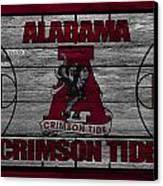 Alabama Crimson Tide Canvas Print by Joe Hamilton