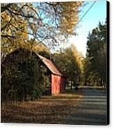 Alabama Red Canvas Print