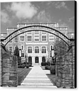 Albany Law School Gate Canvas Print