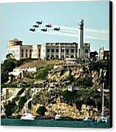 Alcatraz Blues Canvas Print by Benjamin Yeager