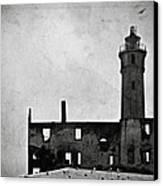 Alcatraz Island Lighthouse Canvas Print by RicardMN Photography