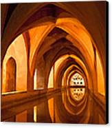 Alcazar Cave Galleries Seville Canvas Print by Viacheslav Savitskiy