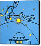 Alder Planetarium Canvas Print by Jennifer Rondinelli Reilly - Fine Art Photography