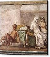 Aldobrandini Wedding. 1st C. Bc Canvas Print by Everett