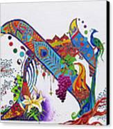 Aleph II Canvas Print by Dawnstarstudios
