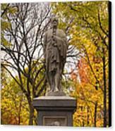 Alexander Hamilton Statue Canvas Print by Joann Vitali