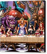 Alice In Wonderland 06a Canvas Print by Zenescope Entertainment