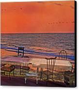 Alice's Topsail Island Tea Canvas Print by Betsy Knapp