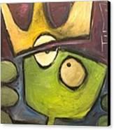 Alien King Canvas Print