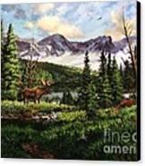 All Clear Canvas Print by W  Scott Fenton
