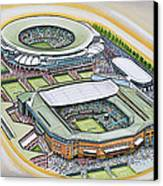 All England Lawn Tennis Club Canvas Print