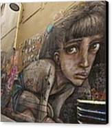 Alley Graffiti #2 Canvas Print by Stuart Litoff