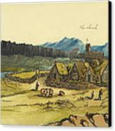 Almanna Gorge Circa 1862 Canvas Print by Aged Pixel