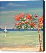 Aloha Canvas Print by The Beach  Dreamer