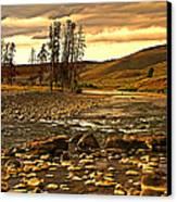 Along The Larmar River Canvas Print
