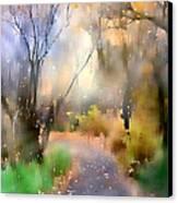 Alpine Aspens 9 Canvas Print