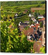 Alsace Morning Canvas Print by Brian Jannsen