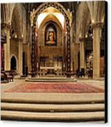 Alter Of St. Josheph's Canvas Print by Dick Wood