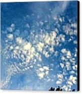Altocumulus Clouds Canvas Print