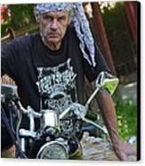 Always Free Like A Wind -  Easy Dream Rider. Canvas Print by  Andrzej Goszcz