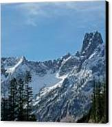 Amazing Peaks Canvas Print by Christine Burdine