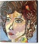 Amber Canvas Print by Karen Carnow
